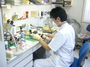 歯科技工室